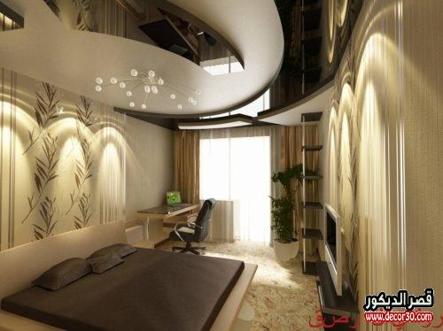 ديكورات جبس غرف نوم حديثة 2020