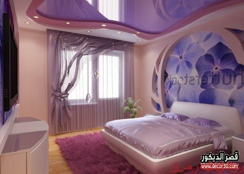 ديكورات جبس غرف نوم 2020