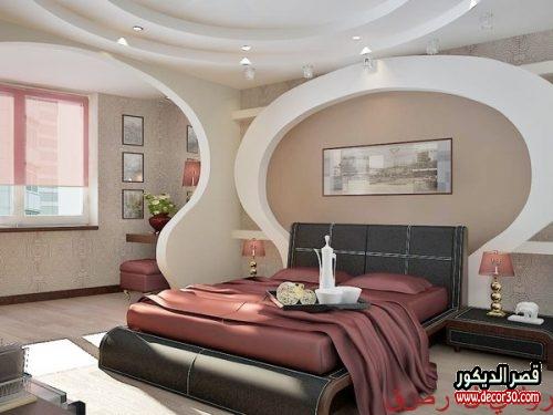ديكورات جبس مودرن 2020 بورد غرف نوم