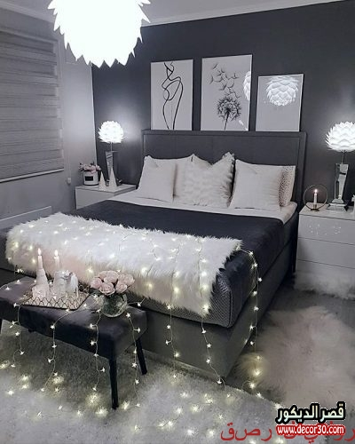 ديكورات غرف النوم الرئيسية بسيطة