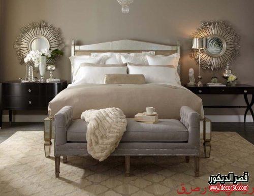 ديكورات غرف النوم الرئيسية مودرن