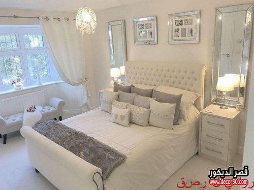 صور غرف النوم الرئيسية 2018