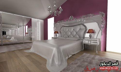 ديكورات غرف النوم الرئيسية 2019