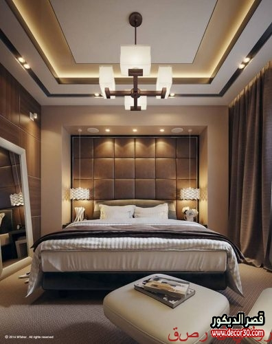 ديكورات غرف نوم مميزة بتصاميم عصرية