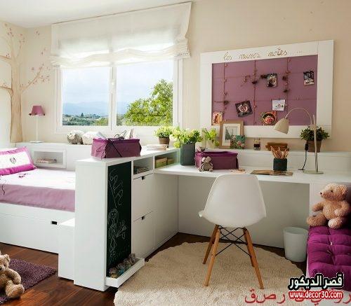 صور غرف نوم بنات حديثة