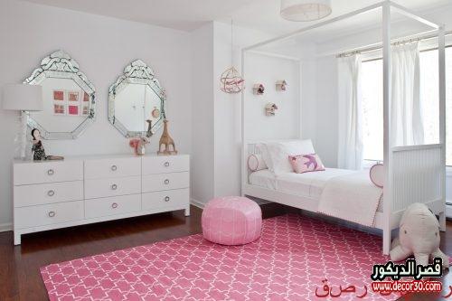 صور غرف نوم بنات مودرن