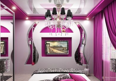 Gypsum bedroom decor 2019