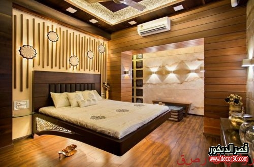 Decorations of wooden walls