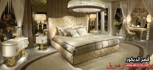 غرف نوم للعرسان كلاسيك