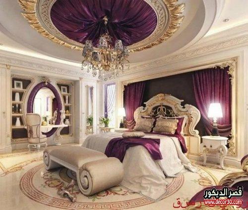 غرف نوم للعرسان 2019