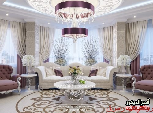 ديكورات صالونات منازل تركية رهيبة