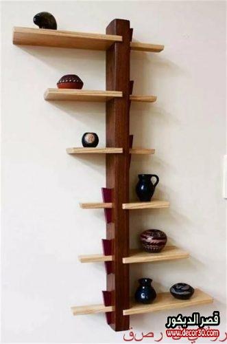 Wood shelves design 2019