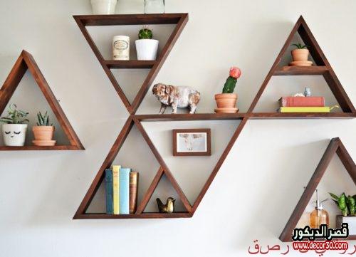 Wood shelves for books 2019