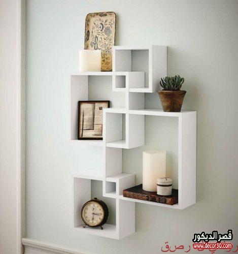 Wood shelves shops