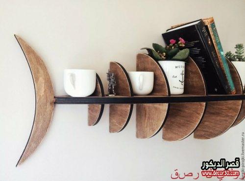 Wooden shelves 2019