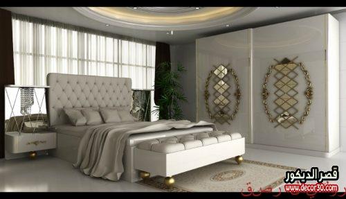 الوان دهانات غرف نوم رومانسية 2021
