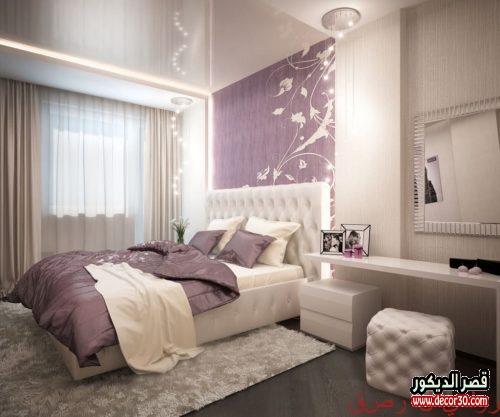 ألوان دهانات غرف نوم رومانسية 2021
