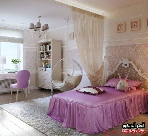 ألوان غرف نوم بنات 2022