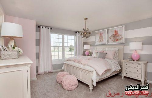 ألوان غرف نوم بنات
